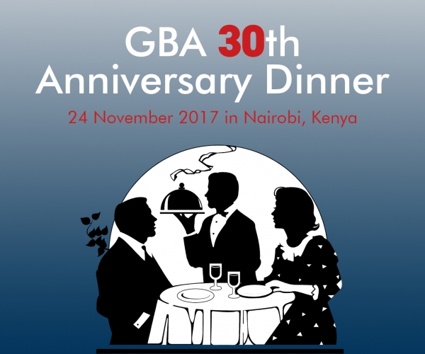 GBA 30th Anniversary Dinner