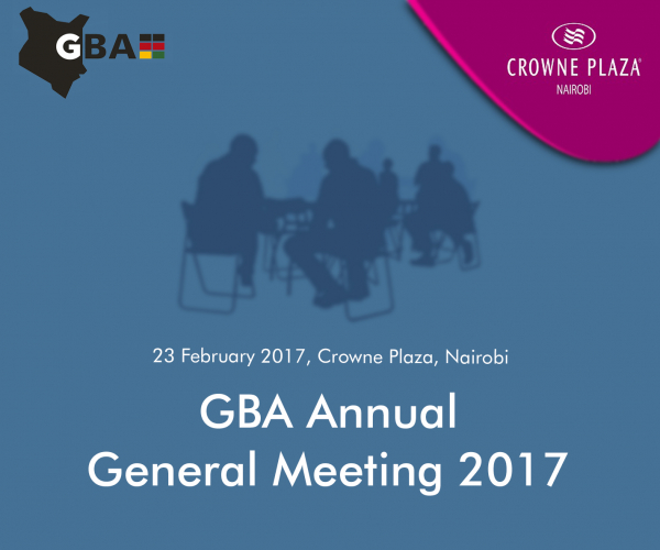 GBA Annual General Meeting 2017