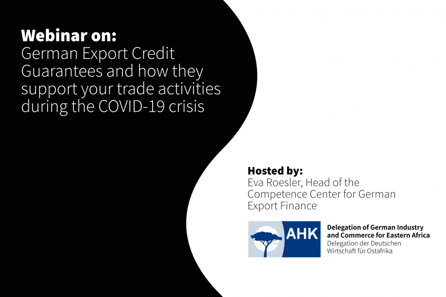 30th April 2020 - German Export Credit Guarantees and how they support your trade activities during the COVID-19 crisis