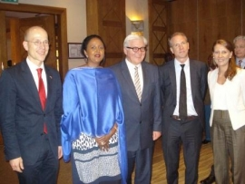 Visit of the Minister for Foreign Affairs of the Federal Republic of Germany Dr. Frank-Walter Steinmeier