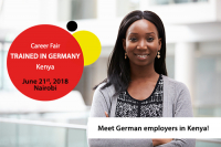 "Career Fair ""Trained in GermanY"" Kenya 2018"